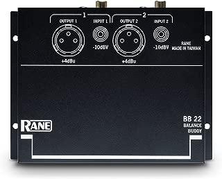 RANE BB22 Unbalanced to Balanced Converter