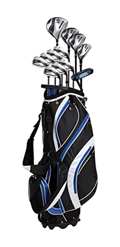 PreciseGolf Co. 18 Piece Men's Complete Golf Club