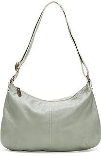 product image for Mint Italian Leather Hobo Crossbody Bag