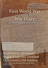 40 DIVISION 120 Infantry Brigade King's Own (Yorkshire Light Infantry) 15th Battalion : 1 March 1918 - 6 June 1919 (First World War, War Diary, WO95/2612/2)