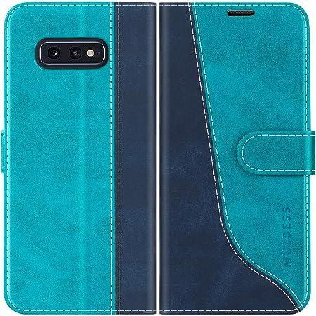 Kazineer Case For Samsung Galaxy S10e Leather Case Mobile Phone Case For Samsung Galaxy S10e Protective Wallet Case Turquoise Blue Garten