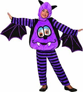 Forum Novelties 80515 Wiggle Eyes Bat Child's Costume, Toddler, Multi, Multicolor