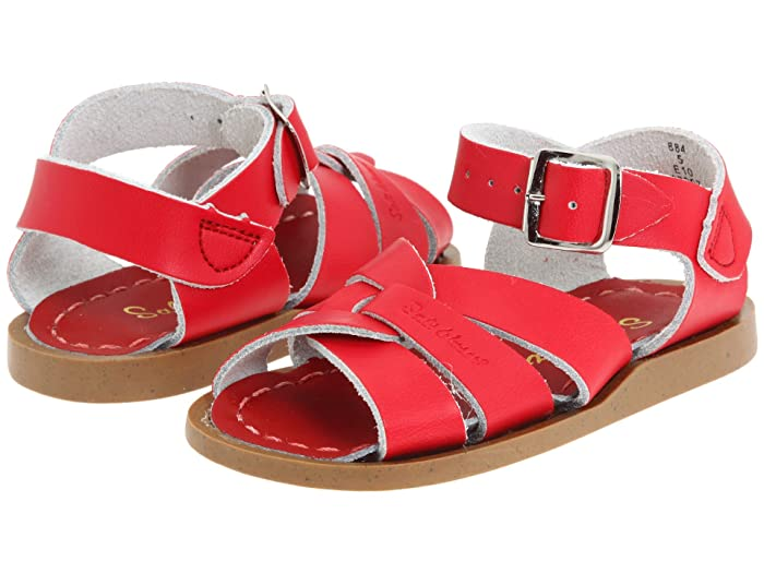 Salt Water Sandal by Hoy Shoes  The Original Sandal (Infant/Toddler) (Red) Kids Shoes