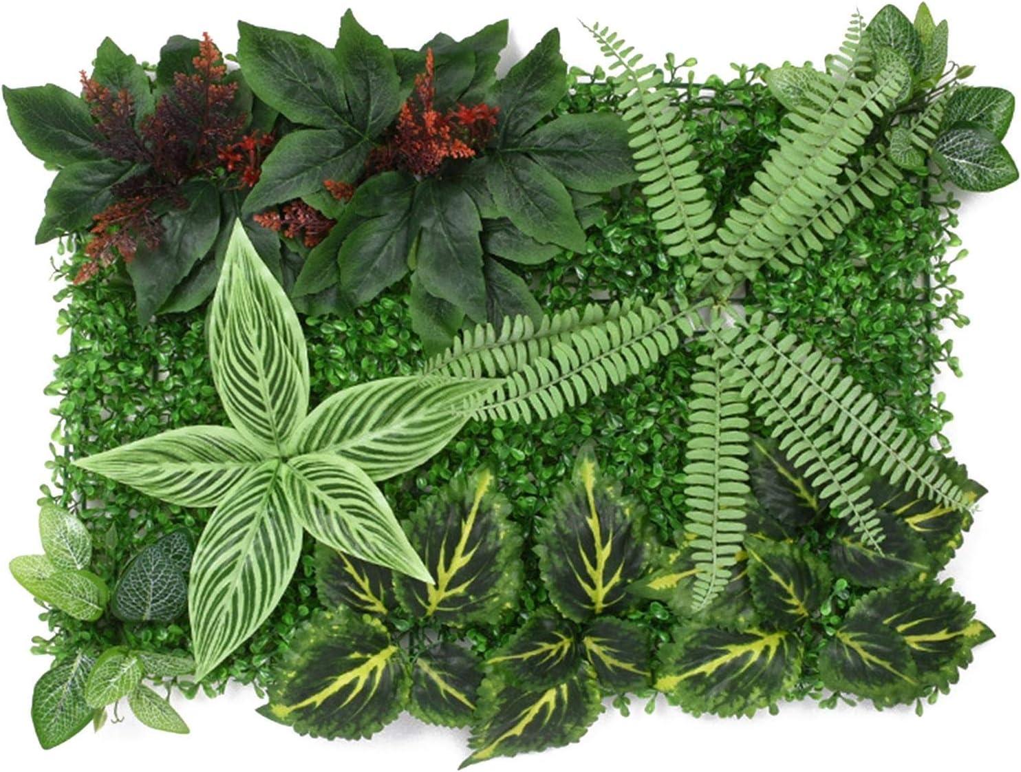 Artificial Plants Panels Plant Privacy Decor Screen Hedge Atlanta Mall Garden Genuine