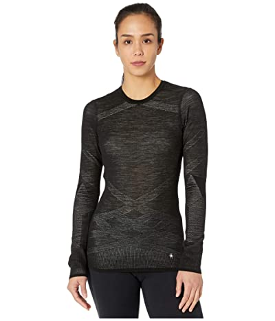 Smartwool Intraknit Merino 200 Crew (Black/White) Women