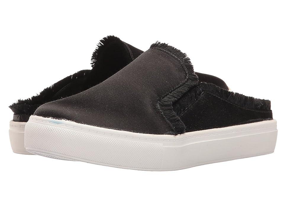 Dirty Laundry Jaxon Satin Mule Sneaker (Black) Women