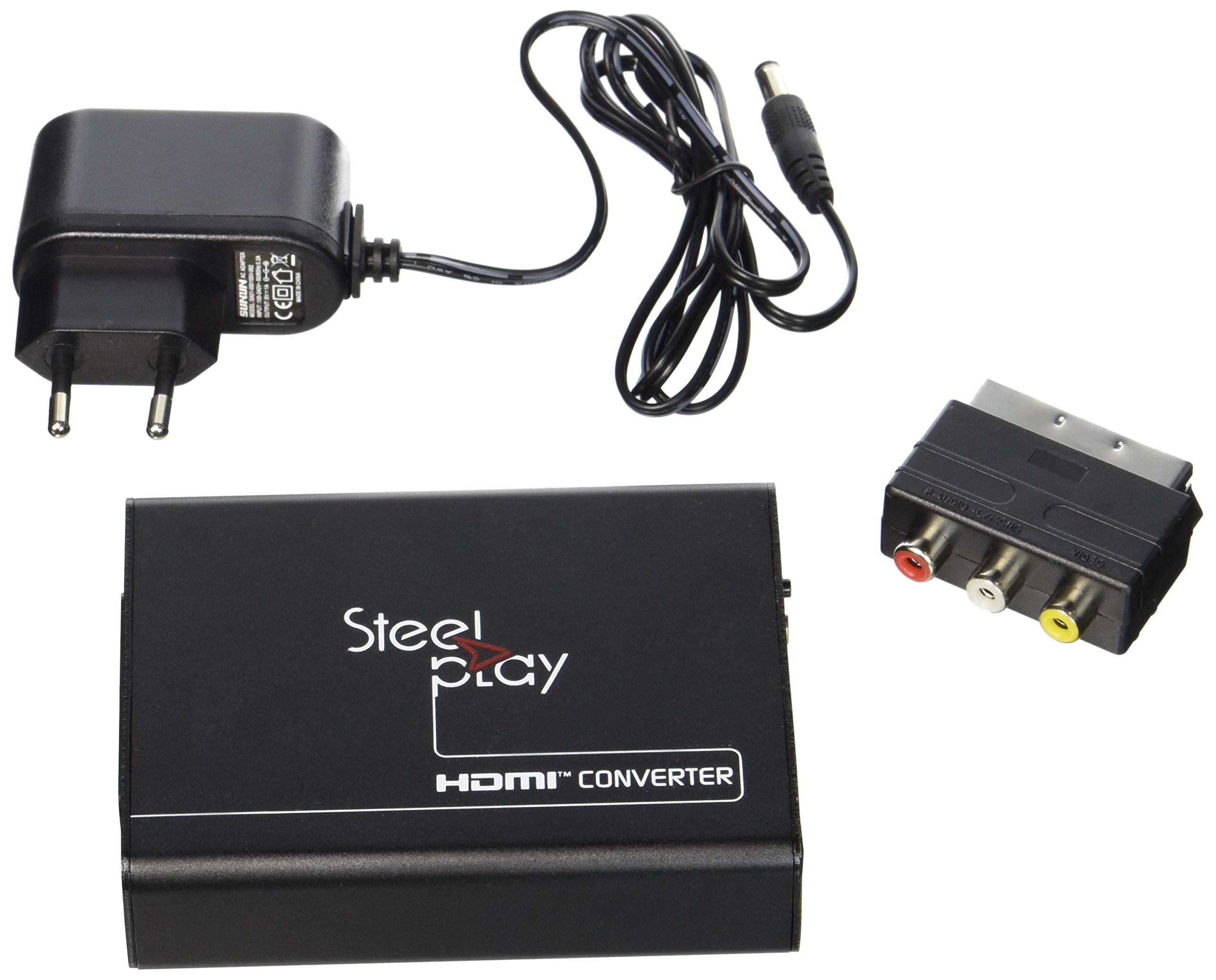 Import - Steelplay Adaptador Scart A Hdmi: Amazon.es: Electrónica