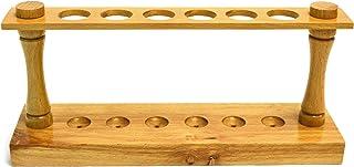 """Eisco Labs Premier Tile Tube Rack (6) 22mm Holes، 9.5 """"Long"""