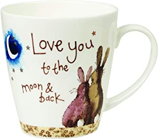 Churchill Alex Clark Love You to The Moon & Back Gift Coffee Tea Mug
