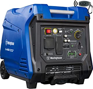 Westinghouse iGen4500 Super Quiet Portable Inverter Generator - 3700 Rated Watts and 4500 Peak Watts - Gas Powered - CARB Compliant