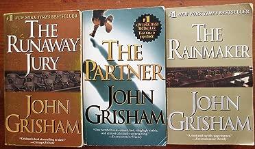 John Grisham's 3 book set: The Partner, The Rainmaker, & The Runaway Jury