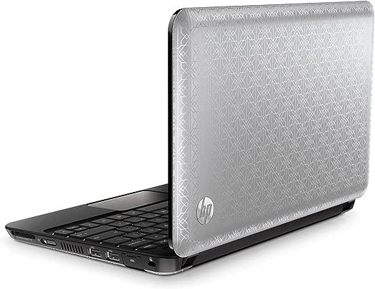 HP Mini 210-1020eg 25 7 cm  10 1 Zoll  Netbook  Intel Atom N450 1 6GHz  1GB RAM  250GB HDD  Intel GMA 3150  Win Starter  silber