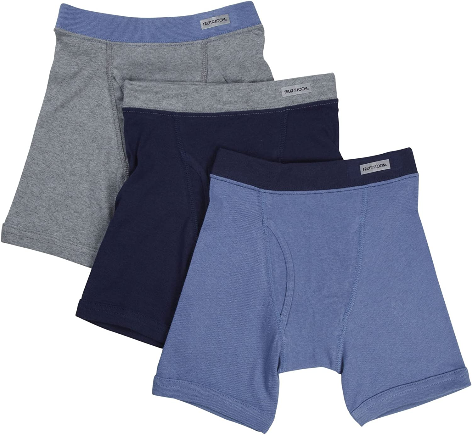 Fruit of the Loom Big Boys' Covered Elastic Boxer Brief