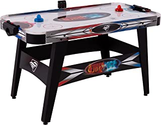 "Triumph Fire 'n Ice LED Light-Up 54"" Air Hockey Table Includes 2 LED Hockey Pushers and LED Puck"