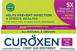 CUROXEN First Aid Ointment with Arnica, 0.5 oz |Fast Pain Relief | All-Natural & Organic Ingredients | First Aid Supplies