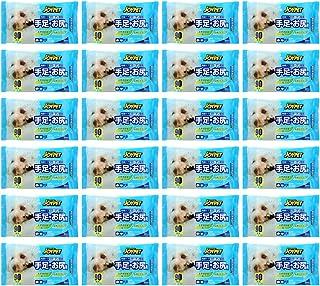 JOYPET ジョイペット ペット用ウェットティッシュ 90枚入り24個パック 2160枚入り 大容量パック 犬猫 手足お尻用 なめても安心 天然成分配合