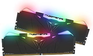 Patriot Viper RGB Series 16GB (2 x 8 GB) 3600 MHz Kit w/Escudo térmico Negro