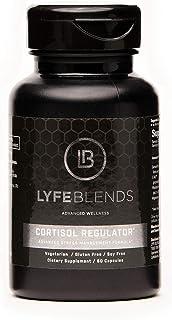 Lyfe Blends Advanced Wellness Cortisol Regulator Stress Management Formula; Non GMO Ingredients, Vegetarian, Gluten Free, ...