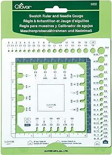 Clover Ruler & Needle Gauge Règle Swatch et jauge à aiguille, Animal de Compagnie (Pet), Autre, Taille unique