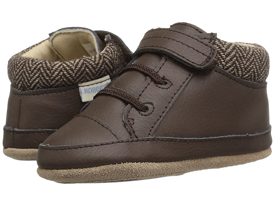 Robeez Woven Willy Mini Shoez (Infant/Toddler) (Brown) Boys Shoes
