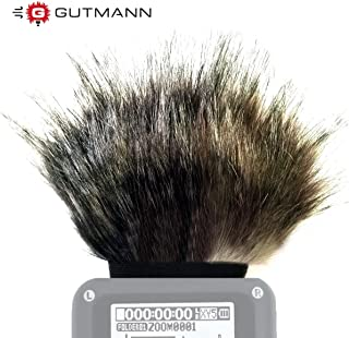 Gutmann microfono ANTIVENTO PER ZOOM h2n Premium Black