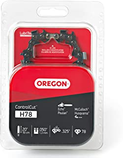 Oregon H78 20-Inch ControlCut Chainsaw Chain - Fits Husqvarna, Jonsered and More