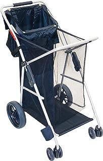 RIO Gear Wonder Wheeler Big Wheel Folding Beach or Sports Cart with Tote Bag