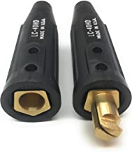 LC40HD Weldmark By Lenco Cable Connector Set (1 Male / 1 Female)