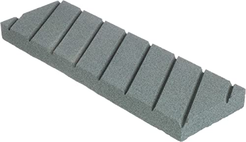 """2021 Norton 69936687444 Flattening Stone With Diagonal Grooves For Waterstones, Coarse Grit Silicon Carbide Abrasive, Superbly Flat With Hard Bond, Plastic Case, 9"""" wholesale discount x 3"""" x 3/4"""" sale"""