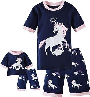 Babypajama Deer Little Girls Pajamas Set 100% Cotton Clothes