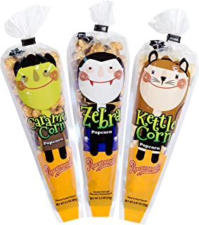 Popcornopolis Gourmet Popcorn Halloween Mini Cone 24 pack