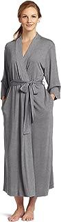 Shangri La Long Robe with Kimono Sleeves, Bathrobe for Women