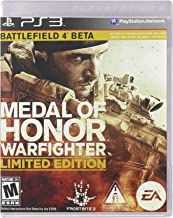 Medal Of Honor WARFIGHTER PS3 (Limited Edition) w Battlefield 4 Beta & More