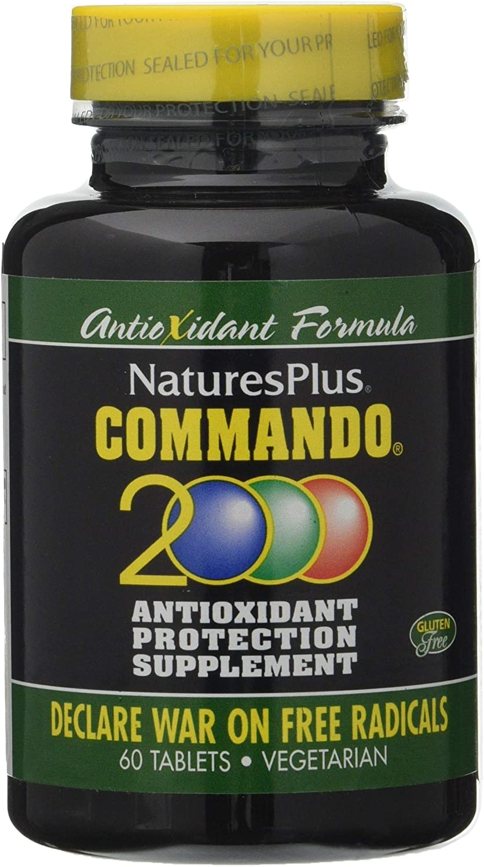 Nature´s Plus Commando 2000-60 Comprimidos