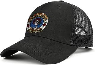 MUSOWIC Men Women Grateful-Lyrics-Dead- Cap Retro Hats Baseball Caps