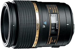272E 90mm Macro Tamron SP AF 90 F2.8 Di Macro Lens for Nikon, Black (TM-272ENII)