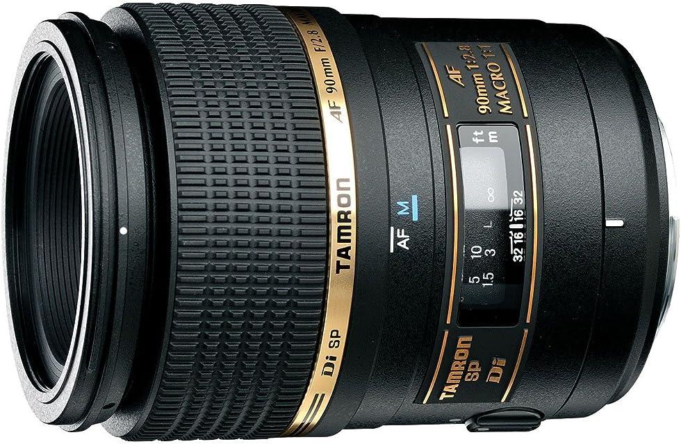 Tamron 272ES SP AF 90 mm F/2.8 Di Macro 1:1 - Objetivo para Sony/Minolta (Distancia Focal Fija 90mm Apertura f/2.8 Macro diámetro: 55mm) Negro