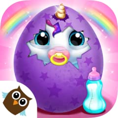 Become the best horse & pony nanny with fun My Baby Unicorn game for girls & boys, kids & toddlers! Hatch a colorful egg & take care of the cutest newborn unicorn with rainbow hair! Check the stats & watch your magical pony pet grow! Bathe, feed & po...