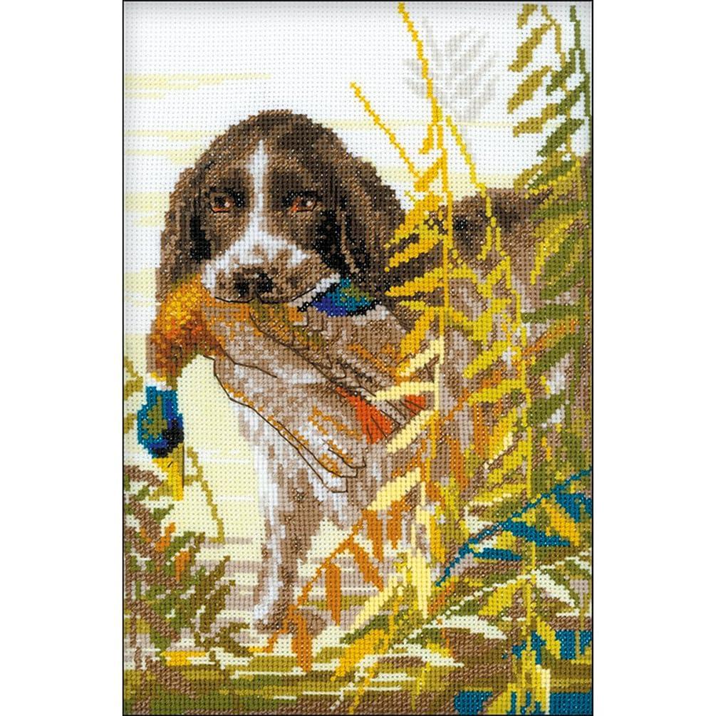 RIOLIS 1151 - Hunting Spaniel - Counted Cross Stitch Kit 7