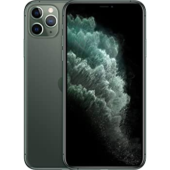 Apple iPhone 11 Pro Max (64GB, Midnight Green) [Locked] + Cricket Wireless Plan