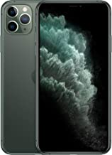 Apple iPhone 11 Pro Max (64GB, Midnight Green) [Carrier Locked] + Carrier Subscription [Cricket...