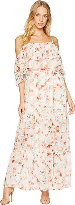 RSVP Tae Floral Off the Shoulder Dress