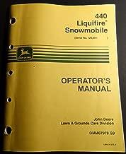JOHN DEERE 440 LIQUIFIRE SNOWMOBILE OPERATORS MANUAL OMM67978 G9 (211)