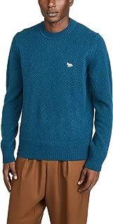 Men's Long Sleeve Lambswool Rib Neck Pullover