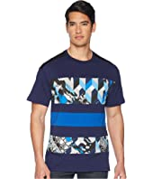 Versace Jeans - Graphic Block Stripe Tee Shirt