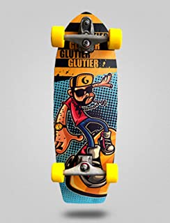 Glutier Surfskate Jhon Drugs 30,5 with T12 Surf Sk...