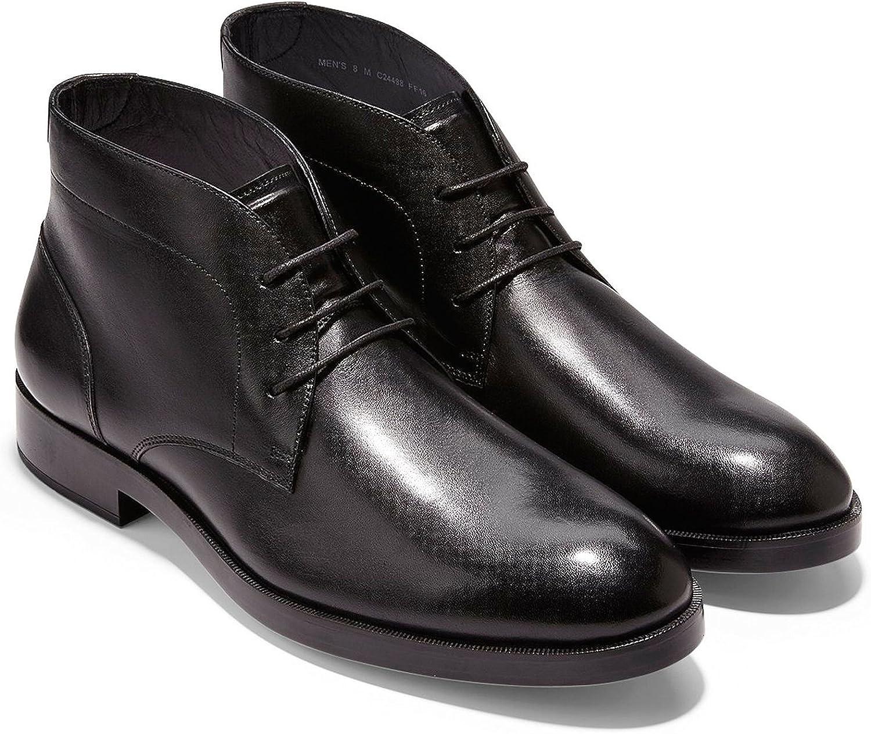 Cole Haan Haan Haan herr Harrison Grand Chukka läder Boot skor  fabriks direkt