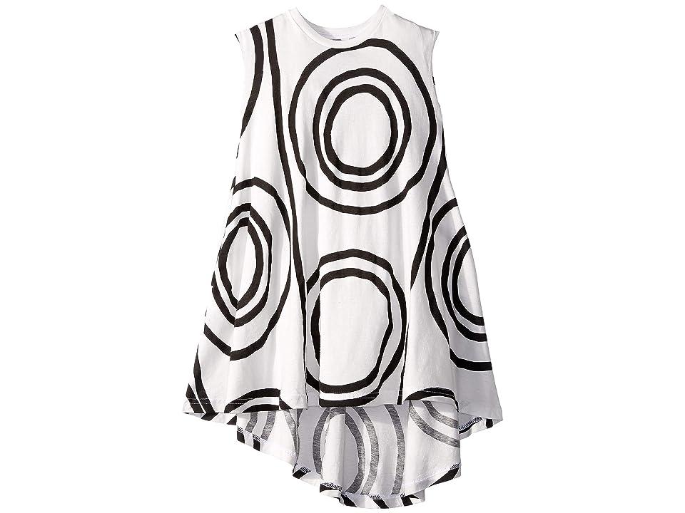 Nununu Circle 360 Dress (Toddler/Little Kids) (White) Girl