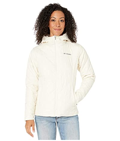 Columbia Copper Cresttm Hooded Jacket (Chalk/Chalk) Women