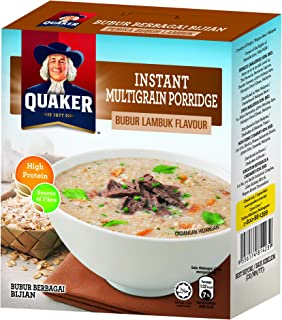 Quaker Instant Multigrain Porridge, Bubur Lambuk, 105 G
